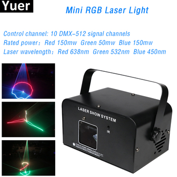 LED RGB Laser Strobe Light DMX512 Control Stage Effect Light DJ Disco Laser Projection Scanner Light For Party Bar Wedding Dance djworld led 5x30w rgb matrix dmx512 stage effect lighting for dj disco party dance floor nightclub bar and wedding decoration
