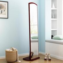 Полноразмерное зеркало, напольное зеркало для спальни, большое стерео зеркало, китайское мобильное вращающееся туалетное зеркало, женское домашнее платье для похудения