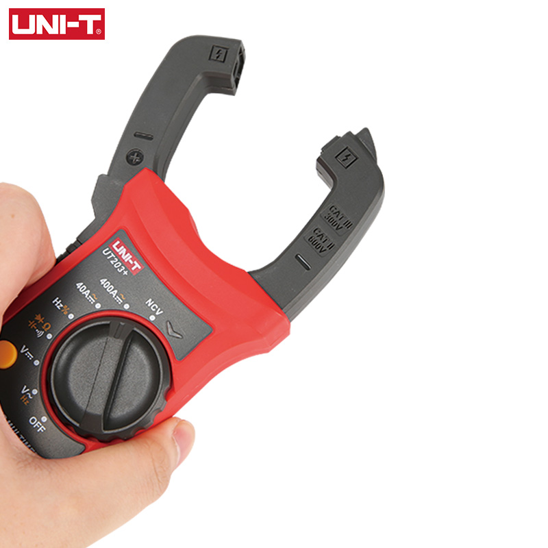 UNI-T UT201+/UT202+/UT203+/UT204+/UT202+ 400-600A digital clamp meter; automatic range