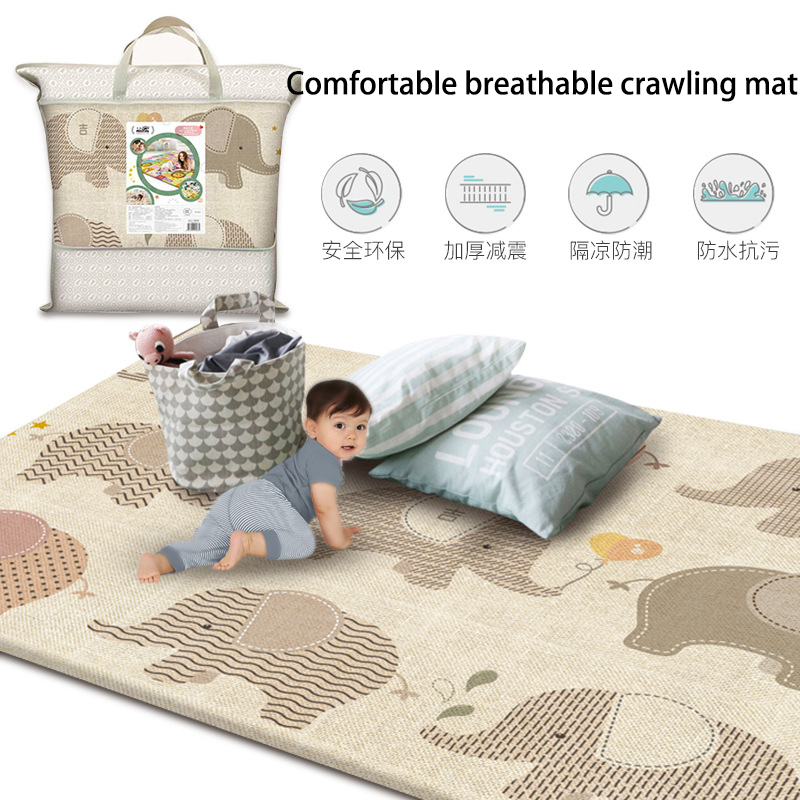 Crawling Mat Infant Play Mat Toys Double-sided Non-slip Puzzle Children's Mat Thickened Infantil Baby Room Floor Carpet Rug
