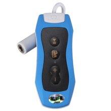 8GB MP3 Player Swimming Underwater Diving Spa + FM Radio Waterproof Headphones Pink