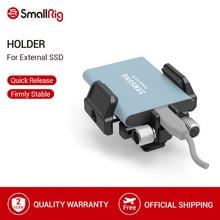 """SmallRig uniwersalny uchwyt na zewnętrzny dysk SSD uchwyt zaciskowy z zimnym butem i 1/4 """" 20 śrub 2343"""
