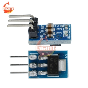 AMS1117 3. 3V Power Supply Module 3 Feet AMS1117-3. 3V Power Module LDO 800MA DC-DC Step Down Power Buck Module DIY Board