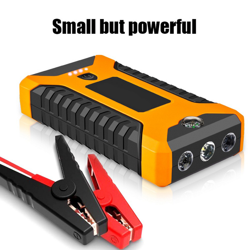12V 600A High Capacity Car Jump Starter Portable Power Bank Car Starter Jumpstarter Power Bank Boster For Auto Emergency Starter