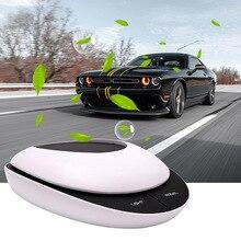 Solar purificador de ar do carro portátil ionizador poderoso poeira cheiro removedor fumaça para o carro escritório em casa