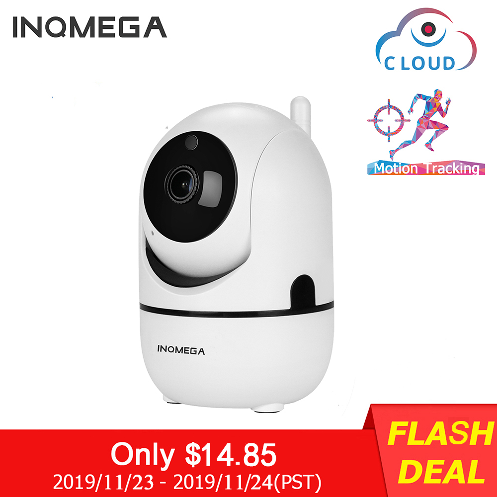 INQMEGA 1080P облачная Беспроводная IP камера, интеллектуальное автоматическое слежение за человеком, Домашняя безопасность, видеонаблюдение, се...