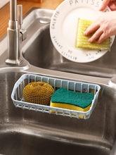 Присоска для кухонной сливной корзины стойка губки раковина