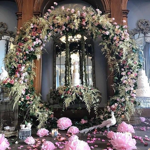 wedding : 4 -7PCS Outdoor Lawn Flower Door Iron Circle Wedding Arch With Pillar Plinths Backdrops For Flowers Balloons Sash Decor DIY Rack