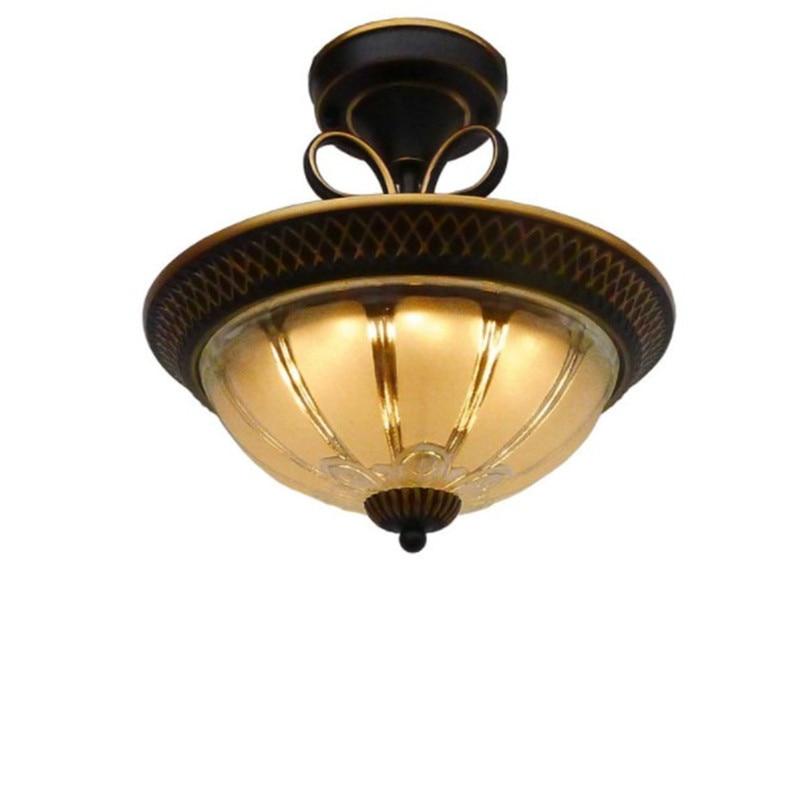 europeu led luzes de teto do vintage lampada teto redonda asile quarto corredor varanda cozinha luzes