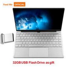 Metal Shell Intel 3867U Netbook 8GB 16GB RAM Laptop Fingerpr