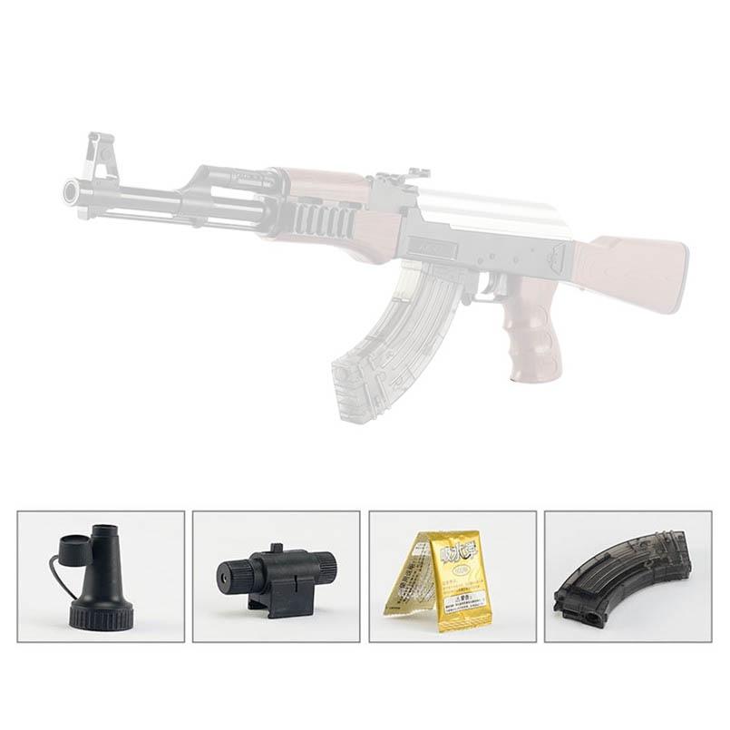 AK47 électrique rafales jouet pistolet enfants fusil pistolet en plein air en direct CS jeu eau balle pistolet manuel fusil jouets cadeaux pour garçons