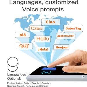 Image 4 - 3G IOS 안 드 로이드 원격 APP 제어 GPRS RFID 카드와 홈 보안 경보 시스템 무선 WIFI 모션 탐지기 알람 키트