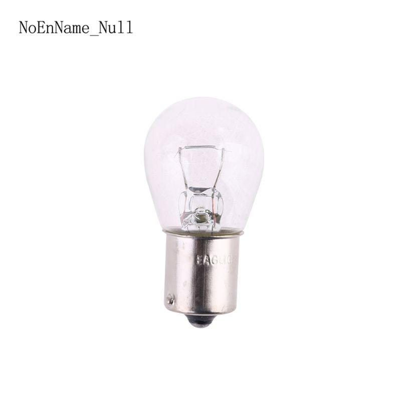 2Pcs 1156 BA15S Glass High Power Low Consumption Car Auto Stop Light Brake Bulb Indicator Lamp 21W DC12V