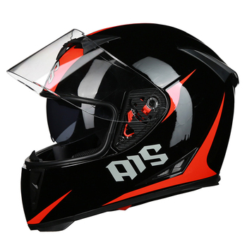 AIS 2019 Motorcycle Helmet Motocross Moto Helmet Motorbike Crash Helmet Double Lens Full Face Helmets Casco Scooter Riding#