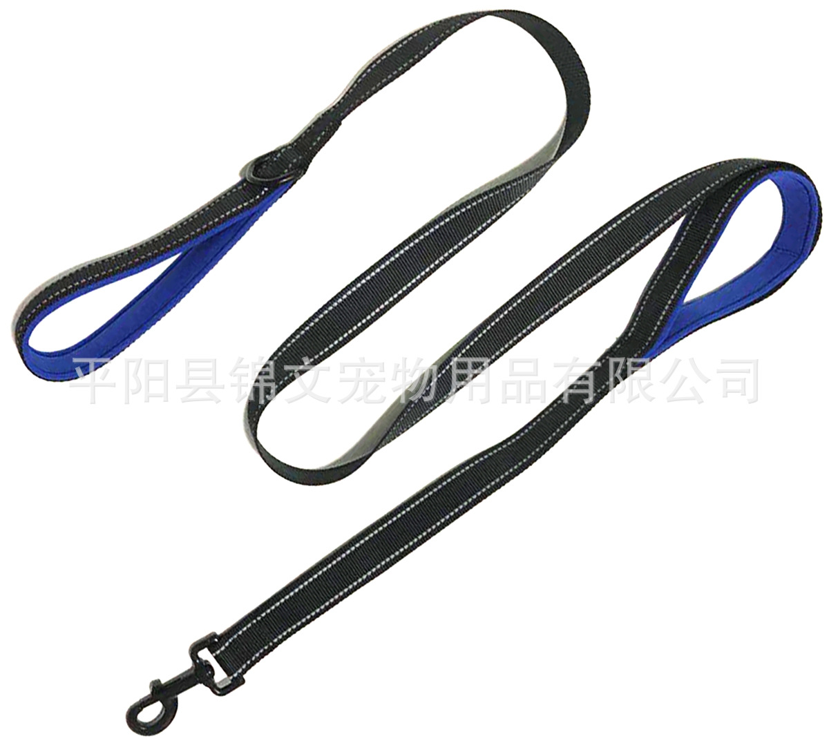 Pet Traction Reflective Strips Traction Belt Imitation Nylon Hand Dog Training Lanyard Dog Chain Dog Traction Pet Seat Belt