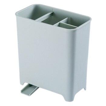 Creativo Multi-Funzione Di Bacchette Cucchiaio Forchetta Da Cucina Titolare Bacchette Di Riposo Del Basamento Drenante Rack Holder