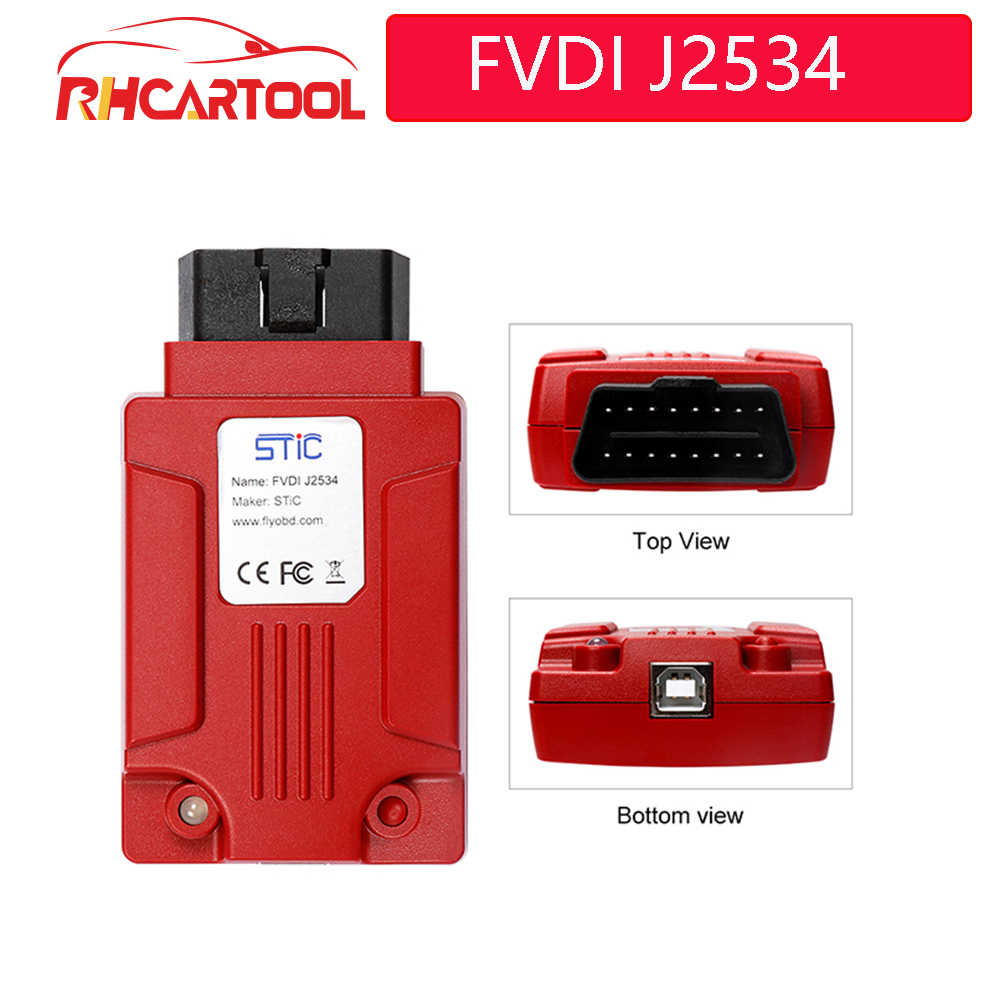 OBD2 Newest FVDI J2534 Diagnostic Tool for Fo rd & Mazda Support Online Module Programming Support Most of ELM327 Software-in Auto Key Programmers from Automobiles & Motorcycles on