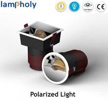 Круглый cob светодиодный потолочный светильник 7 Вт 12 Вт 20 Вт 30 Вт Светодиодный точечный светильник поляризованное освещение светодиодный настенный светильник