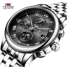 Dropshipping Tevise brand Men watch Automatic Mechanical fas