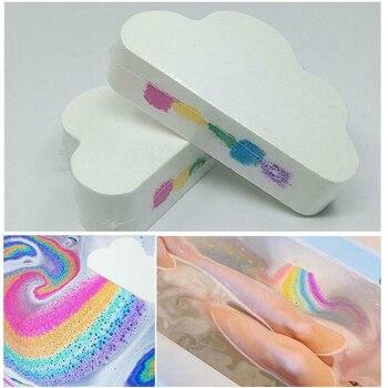 100g Effervescent Bubble Moisturizing Skin Care Sakura Romantic Cloud Rainbow Stress Relief Bath Bomb Shower Hot Spring