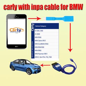 Aplikacja na androida Carly dla BMW V40 28 jest dostarczana z INPA K + CAN DCAN diagnozuje kabel do programowania za pomocą kabel otg tanie i dobre opinie alansh software 0gkgkg Oprogramowanie newest none 0cminchinch carly software