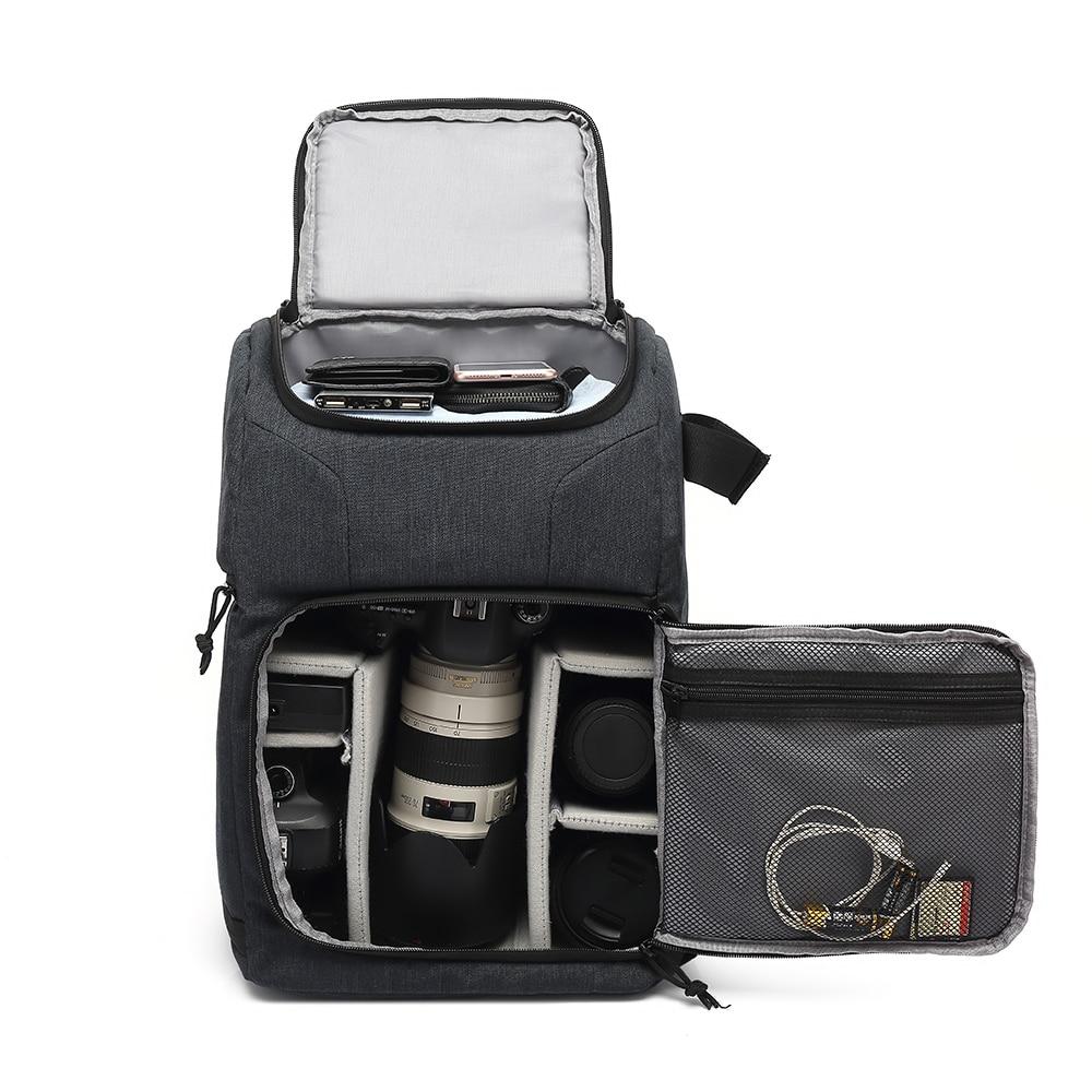 Waterproof Camera Bag Photo Cameras Backpack For Canon Nikon Sony Xiaomi Laptop DSLR Portable Travel Tripod Lens Pouch Video Bag