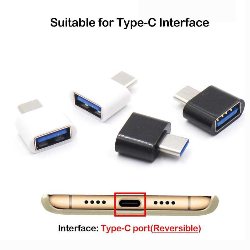 USB-C Type C 3.1 à USB femelle OTG câble adaptateur pour Samsung Xiaomi OTG convertisseur de données