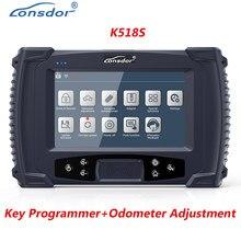 Lonsdor K518S Voiture Programmeur Clé Automatique Avec Ajustement D'odomètre Professionnel OBD2 Scanner Automobile IMMO Code Lecteur Programme Clé