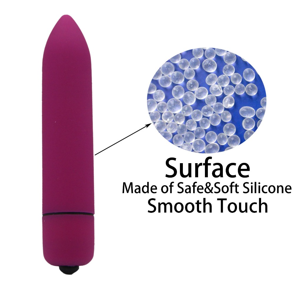 YEMA 4 Color Mini Bullet Vibrator Clitoris G Spot Massager