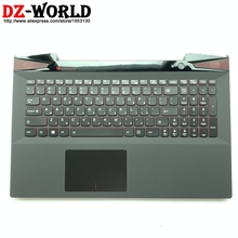 Upper-Case Lenovo y50-70 Touchpad Palmrest Backlit Keyboard Laptop-C-Cover New Black