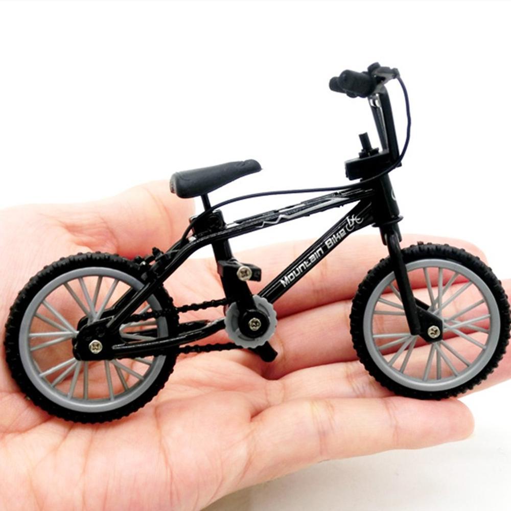 1 stücke Mini-finger-bmx Set Bike Fans Spielzeug Legierung Finger BMX Funktionale Kinder Fahrrad Finger Fahrrad Ausgezeichnete qualität Bmx Spielzeug Geschenk