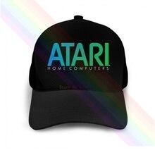 Atari Home Computers Blue Logo 2020 Newest Black Popular Baseball Cap Hats Unisex