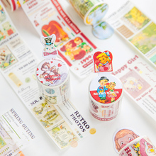 COO NOTE New sulphuric acid  Paper Tape Stickers Pack Sticker Tool Kawaii Memo Pad