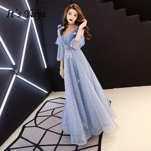 Вечерние платья небесно голубого цвета it's yiiya r270 с