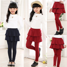 Children Pants Leggings Girls Trousers Toddler Winter Kids for Cotton Warm Multicolor