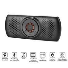 Multi-Fungsi Bluetooth Speakerphone Bluetooth 4.2 EDR Dukungan untuk Siri Speaker Mobil Handsfree Kit MP3 Player Adaptor(China)