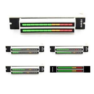Image 1 - フルミニデュアル 12 レベルインジケータ Vu メーターステレオ調整可能な光速ボードと AGC モード Diy キット