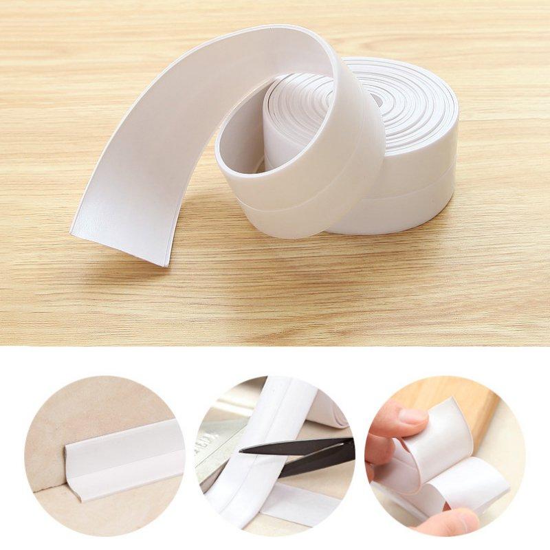 Self Adhesive Waterproof Anti-Moisture Tape Kitchen Mildewproof Sealing Strip Tape