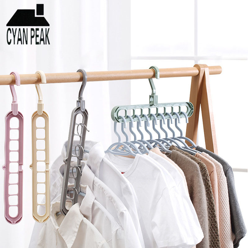 MultiFunctional Clothes Hangers Pants Storage Hangers Clothes Drying Rack Scarf Clothes Hangers Scarf Home Storage Rack Holder