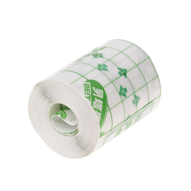 1Roll Waterproof Transparent Tape Non-woven Fabric Film Medical Adhesive Plaster Anti-allergic Wound Dressing Fixation Tape