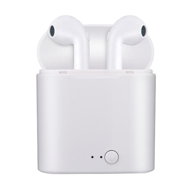Earphones Briame i7s Tws Bluetooth Sport Handsfree Earphone Cordless Headset with Charging Box 1