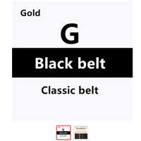 G Belt Luxury Designer Brand Belts Double GG Belt High Quality Classic G Buckle Real Genuine Leather Men Women Belt Box