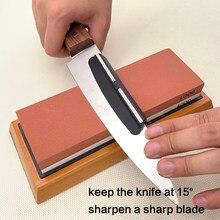 Guía de Ángulo de plástico, 15 grados, piedra afilada, soporte para cuchillos de cocina, cuchilla afilada, accesorios de cuchillas afiladas Apex edge