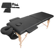 Massage-Bed Table-Pad-Set Folding Portable for Spa 213x60cm Professional Soft