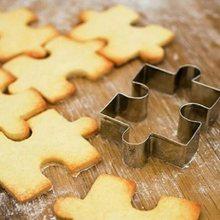 1PC noël Cookie forme acier inoxydable emporte-pièce bricolage Biscuit moule Dessert ustensiles de cuisson gâteau moule Cookie timbre Fondant Cutter