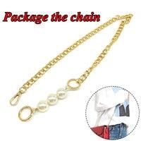 Perle Kette Für Frauen Mädchen Kreative Mode Spleißen Tasche Ketten Exquisite Schöne Schulter Tasche Schulter Riemen Gepäck Decor