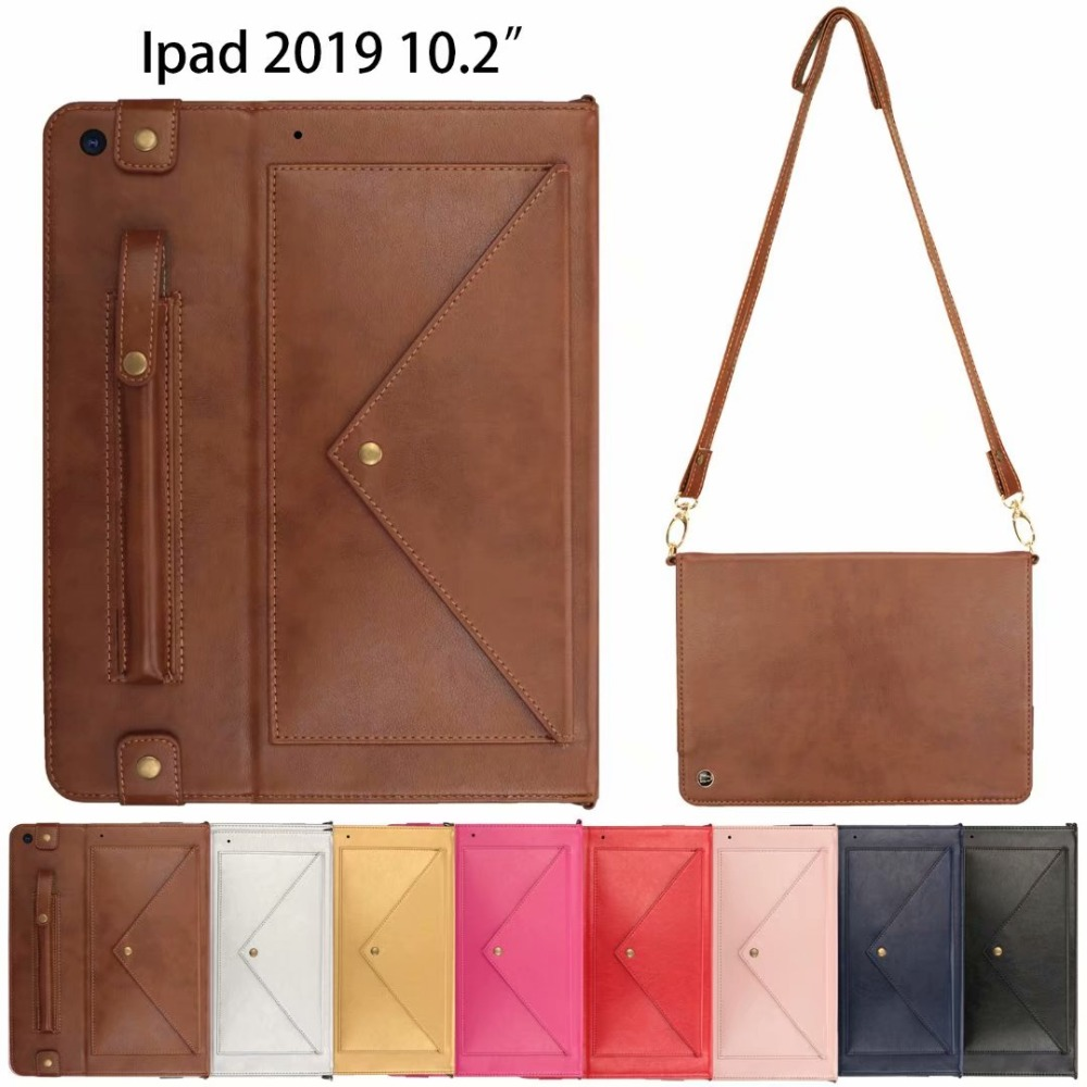 7th A2200 Genuine Cover A2232 Case Tablet A2198 2019 Leather IPad Apple 10.2Inch for