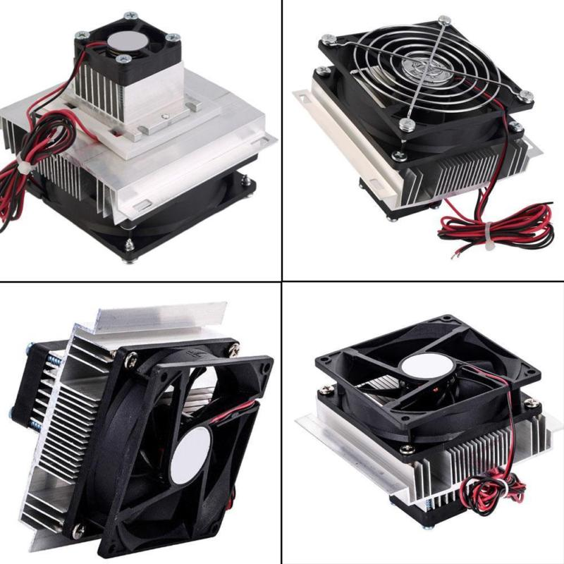 TEC1 12706 Heatsink Thermoelectric Cooler Cooling Peltier Plate Module 12V 60W