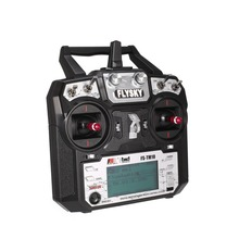 FS-TM10 FS-i6X 10CH 2.4GHz AFHDS RC Transmitter Radio Model Remote Controller System with FS-IA10B Receiver