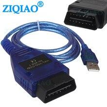 OBD2 USB Kabel VAG COM KKL 409,1 OBD 2 USB Diagnose Kabel Scanner Scan Tool für VW Audi Volkswagen Skoda Sitz diagnose Werkzeuge